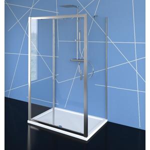 POLYSAN EASY LINE třístěnný sprchový kout 1100x700mm, L/P varianta, čiré sklo EL1115EL3115EL3115