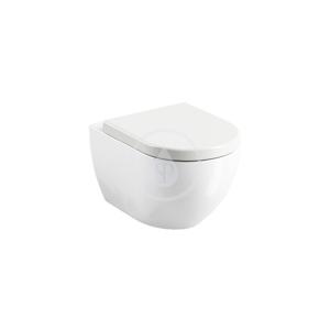 RAVAK Chrome Závěsné WC Uni Rim, bílá X01516