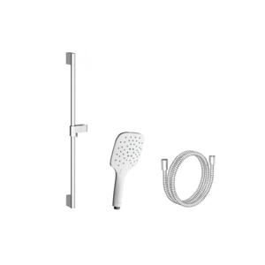 RAVAK Příslušenství Sprchový set 921.00, ruční sprcha Air, 3 funkce, tyč 70 cm, sprchová hadice z odolného plastu 150 cm, chrom X07S002