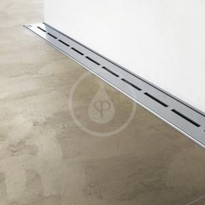 RAVAK Runway Sprchový odtokový žlab 850 mm, ke zdi, nerez X01628