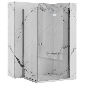 REA/S Sprchový kout BEST zalamovací dveře/stěna 70x90 BESTDS070090
