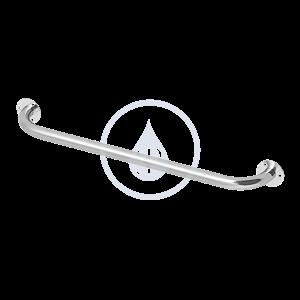 SANELA Nerezové doplňky Nerezové madlo univerzální, pevné, délka 600 mm, matný povrch SLZM 02DX