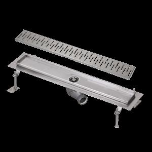 Sanela SLKN 05C Nerezový koupelnový žlábek do prostoru, délka 1150 mm, lesklý SL 69053