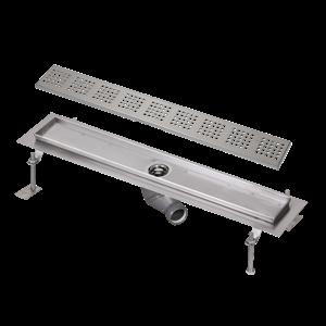 Sanela SLKN 05F Nerezový koupelnový žlábek do prostoru, délka 1150 mm, lesklý SL 69056