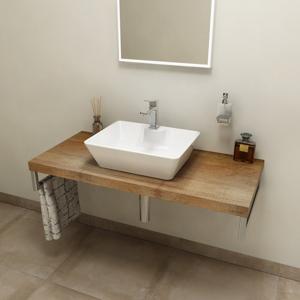 SAPHO AVICE deska 80x50cm, old wood AV088
