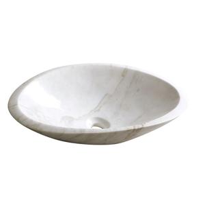 SAPHO BLOK 16 kamenné umyvadlo 58x14x38 cm, bílý mramor, leštěný 2401-22