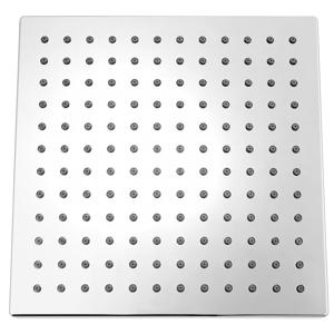 SAPHO Hlavová sprcha čtverec 254x254 mm, ABS/chrom SK950