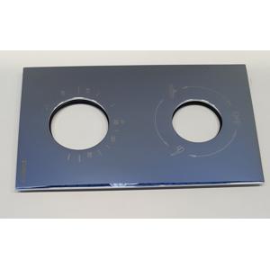 SAPHO KIMURA krycí plech pro KU385, chrom NDKU385-3