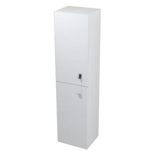 SAPHO MITRA skříňka vysoká 35x140x30cm, bílá, L/P MT151