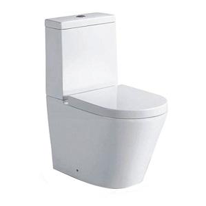 SAPHO PACO WC kombi mísa s nádržkou včetně Soft Close sedátka, spodní/zadní odpad PC1012