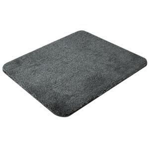 SAPHO SAVANA předložka 50x60cm s protiskluzem, akryl, antracit SU3-901