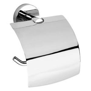 SAPHO X-ROUND E držák toaletního papíru s krytem, chrom (104112012) XR705