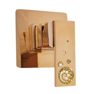 SLEZAK-RAV Vodovodní baterie sprchová vestavěná , Barva: zlato ROYAL1183Z