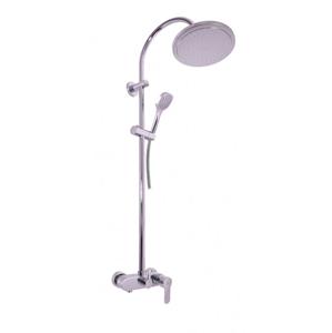 SLEZAK-RAV Vodovodní baterie sprchová ZAMBEZI s hlavovou a ruční sprchou , Barva: chrom, Rozměr: 150 mm ZA082.5/3