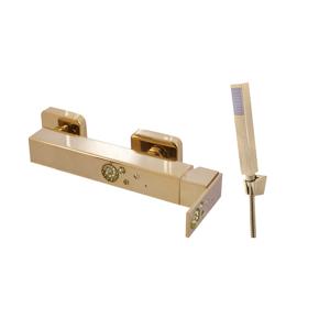SLEZAK-RAV Vodovodní baterie sprchová , Barva: zlato, Rozměr: 150 mm ROYAL1380.5Z