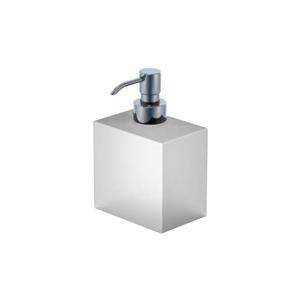 STEINBERG Dávkovač tekutého mýdla, bílé sklo 460 8101