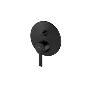 STEINBERG Podomítková páková baterie pro vanu/sprchu s přepínačem, černá mat 260 2103 S