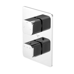 STEINBERG Podomítková termostatická baterie /bez tělesa/, 2 výstupy, chrom 230 4133