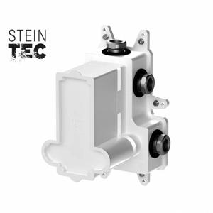 STEINBERG Podomítkové montážní těleso pro termostatické baterie, 3-cestné, kartáčovaný nikl 010 4130 BN