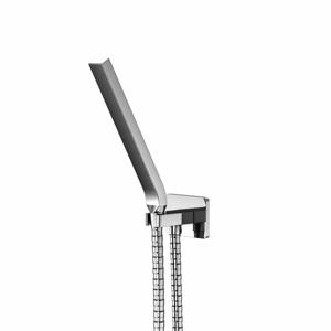 STEINBERG Sprchová souprava, chrom (držák ruční sprchy s přívodem vody, ruční sprcha, kovová hadice) 200 1670
