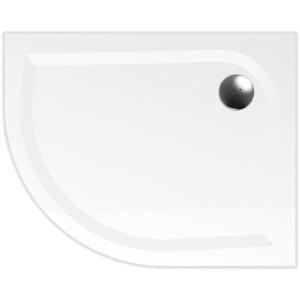 Teiko vanička VIRGO 100x80 Pravá bílá, čtvrtkruh R550, litý mramor, pro SKKH2 Z139100R96T52001 Z139100R96T52001