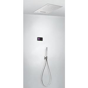 TRES Termostatický podomítkový elektronický sprchový set SHOWER TECHNOLOGY CHROMOTHERAPY · Včet 09288302