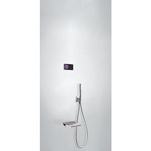 TRES Termostatický podomítkový elektronický vanový set SHOWER TECHNOLOGY 09288556