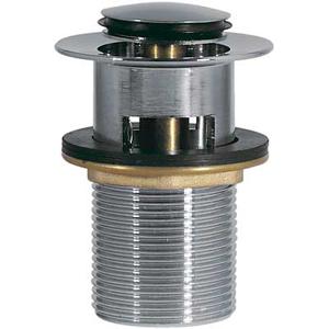 TRES Umyvadlový ventil s přepadem zátka O 37 mm CLICK-CLACK 13454190