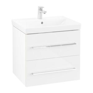 VILLEROY & BOCH Avento Umyvadlová skříňka, 580x514x452 mm, 2 zásuvky, Crystal White A88900B4