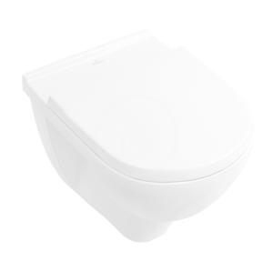 VILLEROY & BOCH O.novo Závěsné WC, DirectFlush, AntiBac, alpská bílá 5660R0T1